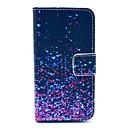 Звездное небо Дизайн PU Полный чехол для тела с слотом для карт iPhone 4 / 4S