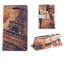 The Eiffel Tower Design PU Full Body Case with Card Slot for Motorola MOTO X