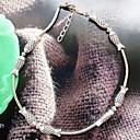 Lureme стиле ретро Национального Поцелуй Fish посеребренные браслет