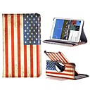 USA National Flag Leather 360 Degree Rotate Flip Stand Case for Samsung Galaxy Tab Pro 8.4 T320