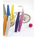 2шт Двухместный номер с блокирующий буфер для шлифовки и шлифования DIY Эмери Nail Art Files (Random Color)