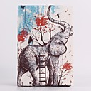 Elephant Pattern PU Leather Case with Stand for iPad mini 3, iPad mini 2, iPad mini