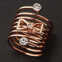 Мода Bowknot Diamanted Весна себе кольцо (1 шт)