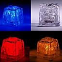 LED Цвет Изменение Ice-Cube Shaped Свет Хеллоуин реквизит