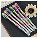 Шесть-Colors гелевая ручка духами