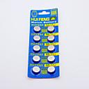 HUIFENG AG13 Button Battery for Watch (10pcs)