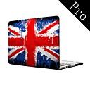 Вода Красочный Флаг Великобритании полный дизайн-Body Защитный пластиковый чехол для MacBook Pro 13