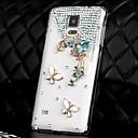 LUXURY Diamonds Crystal Любовь Бабочка обложка чехол для Samsung Galaxy Примечание 4 (разных цветов)