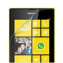 LCD Профессиональные Прозрачность Crystal Clear Screen Protector с Ткань для очистки для для Nokia Lumia 520