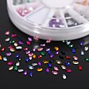 600PCS Красочный маркиз циркония Flatback Акриловые камни Handmade DIY Craft Материал