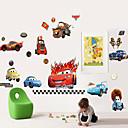 Стены стикеры стены Таблички, мультфильм Автомобили Группа ПВХ стены стикеры