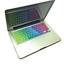 Coosbo Арабские Красочные Силиконовые клавиатуры Обложка кожи План США для 13