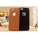 Кожа PU Чистый цвет и гладкую с кругом для iPhone 6 Plus (разных цветов)