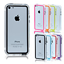BIG D Middle Clear Bumper for iPhone 5C(Assorted Color)