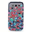 Рельеф Живопись Любовь шаблон 0,2 Стройное ТПУ защитный Shell для Samsung Galaxy I9060 Гранд Neo