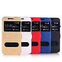 Двойное окно магнитных карт Пряжка кронштейн кобура для Samsung S6 (ассорти цветов)