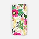 Сафлоровое Зелень шаблон ПК телефон задняя крышка для iPhone 6 Plus Case