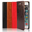 Натуральная кожа Crazy Horse откидная крышка бумажника Слот для карты чехол с подставкой для iPhone 6 Plus (разных цветов)