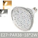 1 шт Дин Яо E27 36W 18 LED Dip 1900-2020LM теплый белый / холодный белый спот огни AC 85-265V