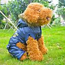 Синие хлопок английская полиция Стили ветрозащитный Пальто для собак