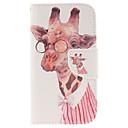 Жирафы шаблон PU кожаный чехол для всего тела с слот для карт и ПОВ по Samsung Galaxy S3