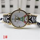 Женская мода ручной Плетеный браслет кварцевые наручные часы Anolog (разных цветов)