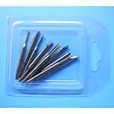 Анти-Трение нержавеющей стали Пластиковый корпус инструмента (10pieces / пакет)