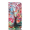 Дерево Pattern карты Стенд Кожаный чехол для LG G3
