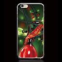 Рождественская елка с подарками Pattern Ультратонкий ТПУ Мягкая обложка чехол для iPhone 6S / 6 Plus