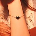 Мода Женщины Черный Любовь сплава браслет ювелирных изделий подарков
