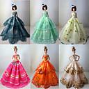 Кукла Барби Принцесса Разноцветные платья (6 шт)
