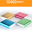 10400mAh Portable Power Bank for iPhone6/6plus/5/5s Samsung S4/5 and other Mobile Devices (Assorted Colors)