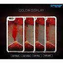 sanlead tulivuori sarjan pc kumi ja nestemäisten juoksuhiekkaa takaisin tapauksessa iphone6 plus, 6s plus (eri värejä)