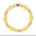 Hochzeit / Party / Alltag / Normal / N/A-Ketten- & Glieder-Armbänder(vergoldet)