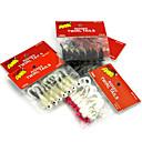 """Paquete de cebos 7pcs/pack pcs,1.75g/pc g/1/18 Onza,44.2mm/pc mm/1-5/8"""" pulgada Others Plástico blandoPesca de baitcasting / Pesca de"""