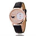 Ladies' Wrist Watch The New Fashion Crystal Ball Diamond PU Band Quartz Watch(Assorted Colors)