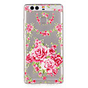 Pink Roses Pattern Embossed TPU Case for P9/ P9 Lite