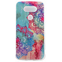 TPU Material Half Flower Color Painted Pattern Soft Phone Case for Asus ZenFone LG G5