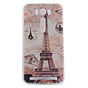 TPU Material Transmission Tower Painted Pattern Soft Phone Case for Asus ZenFone Max ZC550KL