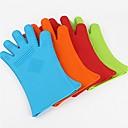 Kreative Küche Gadget / Beste Qualität / Gute QualitätQueen Queen Silicone Glove Finger Thick Dot Denim Insulation Against Hot Microwave