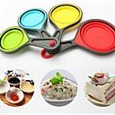 Kreative Küche Gadget / Beste Qualität / Gute Qualität Cups Silicone Bakeware Creative Kitchen Supplies A Family Of Four Random Delivery