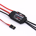 General Accessories RC Skylord 20A with 2A@5V BEC Speed Controller (ESC) RC Airplanes Black Metal / Plastic 1 Piece