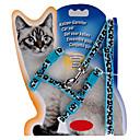 Katzen Leinen Regolabile/Einziehbar Solide Blau Nylon