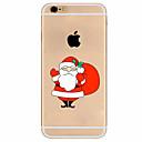 Für iPhone 7 Hülle / iPhone 6 Hülle / iPhone 5 Hülle Ultra dünn / Muster Hülle Rückseitenabdeckung Hülle Weihnachten Weich TPU Apple