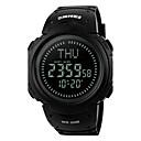 Men's Women's Sport Watch Digital LED LCD Compass Calendar Water Resistant Alarm Stopwatch Rubber Band Cool