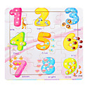 Jigsaw Puzzles Jigsaw Puzzle Building Blocks DIY Toys Number Wooden
