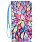 For Samsung Galaxy Case Wallet / Card Holder / with Stand / Flip Case Full Body Case Flower PU Leather SamsungS6 edge plus / S6 edge / S6