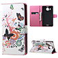 For Nokia Case Wallet / Card Holder / with Stand Case Full Body Case Butterfly Hard PU Leather NokiaNokia Lumia 640 / Nokia Lumia 640 XL