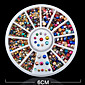 2000PCS Colour Mixture Metal Nail Jewelry Decoration 2/3mm