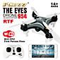 FQ777-954 The eyes RC Quadcopter Wifi Control FRV Nano Drone Smallest UAV 2.4G 4CH RC Quadrocopter RTF